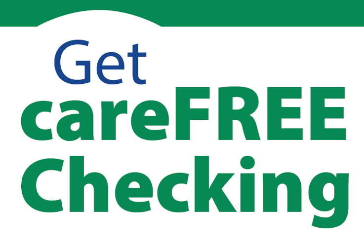 Get a CareFree Checking at Michigan One Community Credit Union